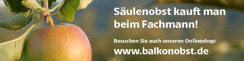 Besuchen Sie auch unseren Online-Shop unter www.balkonobst.de